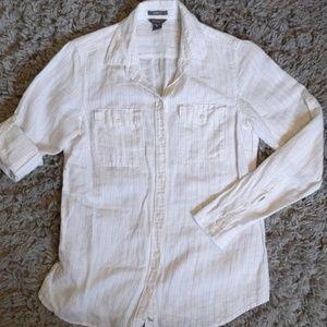 EDDIE BAUER linen shirt